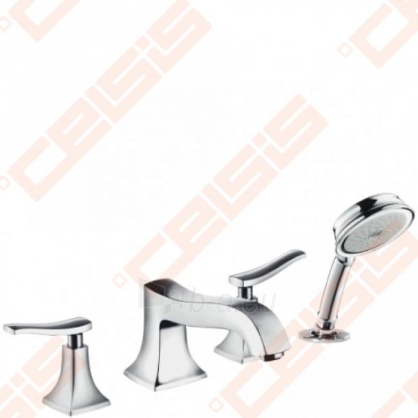 Keturių dalių vonios maišytuvas HANSGROHE Metris Classic Paveikslėlis 1 iš 2 270725000405