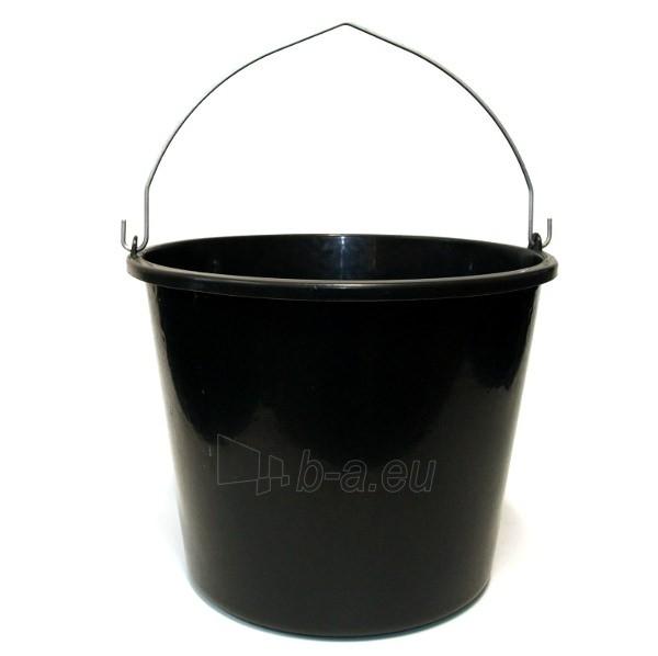 Kibiras IWIR16 statybinis plastikinis juodas 16 L Paveikslėlis 1 iš 1 300467000044