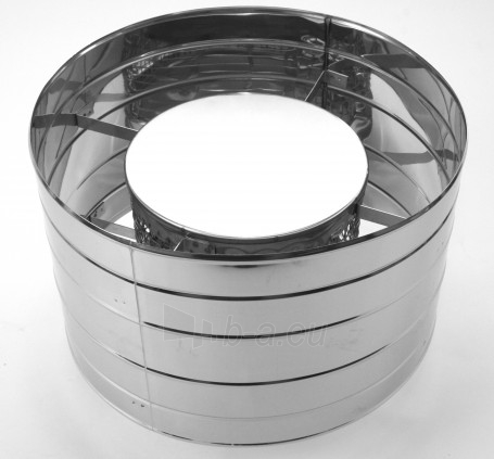 Kibirkščių gaudiklis - deflektorius NP, d=140 mm Paveikslėlis 1 iš 1 30005600900