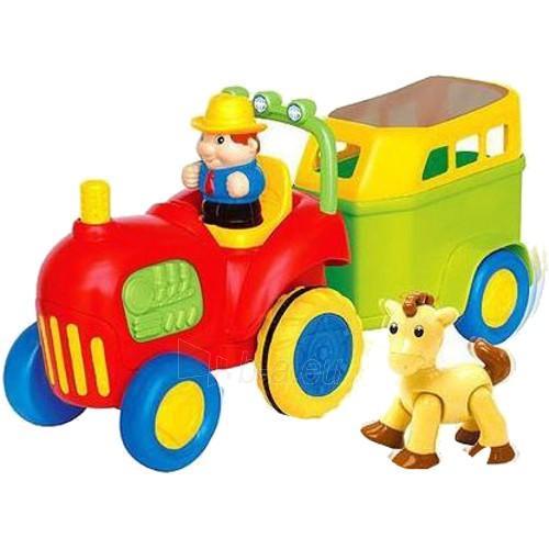 KIDDIELAND Tractor & Pany Trailer Paveikslėlis 1 iš 1 310820004330