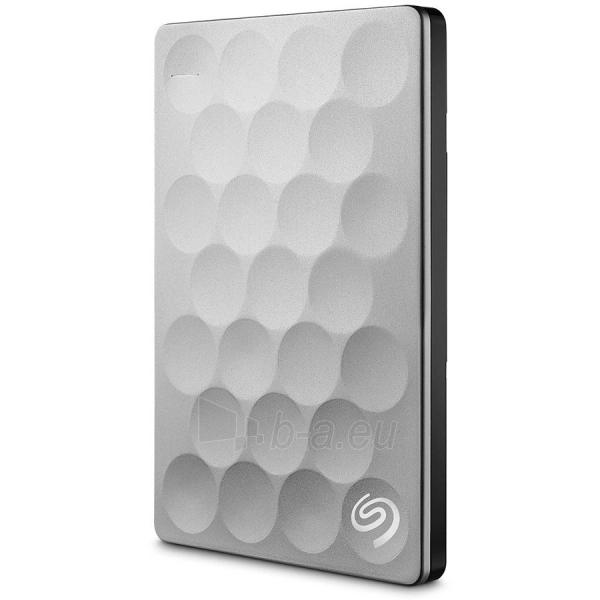 Kietasis diskas HDD External SEAGATE Backup Plus Ultra Silm (1 TB, 2.5, USB 3.0) Paveikslėlis 1 iš 1 310820015903