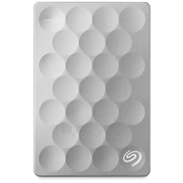 Kietasis diskas HDD External SEAGATE Backup Plus Ultra Silm (2 TB, 2.5, USB 3.0) Paveikslėlis 1 iš 1 310820015904
