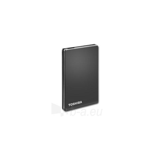 Kietasis diskas HDD External TOSHIBA StorE Steel (500GB, 2.5, USB 3.0) Titanium Paveikslėlis 3 iš 4 310820015814