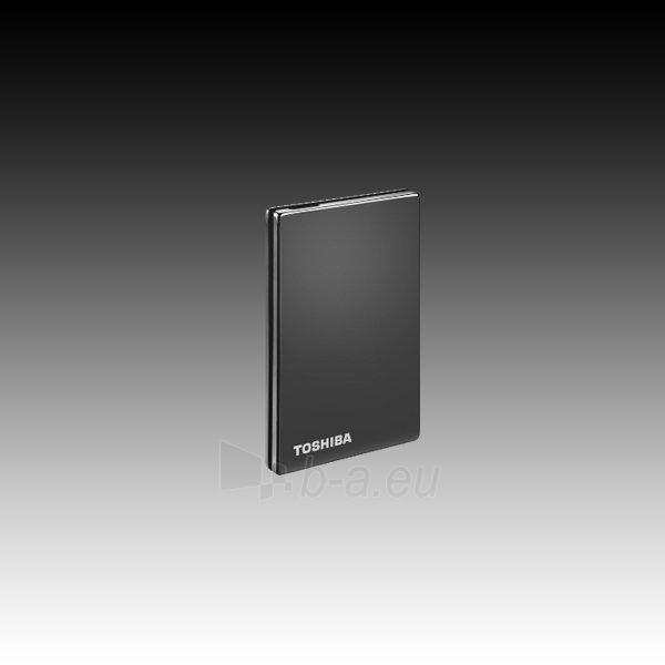 Kietasis diskas HDD External TOSHIBA StorE Steel (500GB, 2.5, USB 3.0) Titanium Paveikslėlis 4 iš 4 310820015814