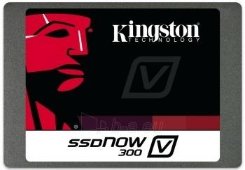 Kingston SSD 240GB V300 SATA3, 2.5 MLC 7mm; upgrade bundle kit Paveikslėlis 1 iš 2 250255510987