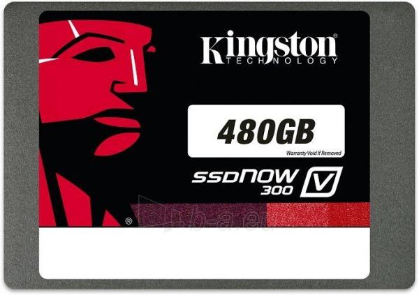 KINGSTON SSDNow V300 480GB with adapeter Paveikslėlis 1 iš 1 250255510893