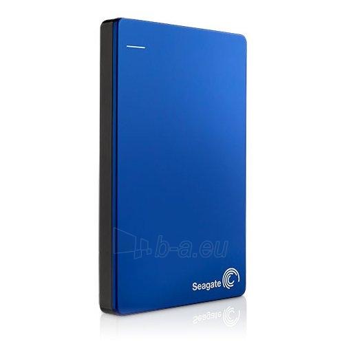 Kietasis diskas SEAGATE HDD External Backup Plus Portable (2.5,1TB,USB 3.0) Blue Paveikslėlis 1 iš 1 310820015906