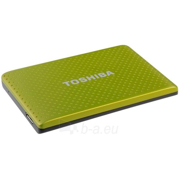 Kietasis diskas TOSHIBA Store Partner 2,5 HDD External 750GB 5400RPM 8MB USB 3.0 Green Paveikslėlis 1 iš 2 310820015815