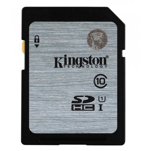 KINGSTON 16GB SDHC Class10 UHS-I 45MB/s Read Flash Card Lifetime Paveikslėlis 1 iš 1 250255123360