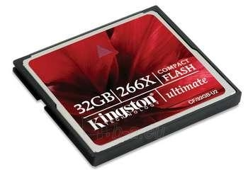 KINGSTON 32GB CF Card 266x Paveikslėlis 1 iš 1 250255121829