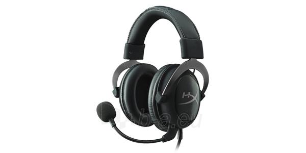 KINGSTON HyperX Cloud II Headset Grey Me Paveikslėlis 1 iš 1 310820004753