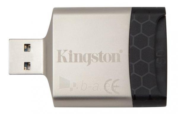 Kingston MobileLite G4 USB 3.0 Multi-card Reader Paveikslėlis 1 iš 1 250255123212