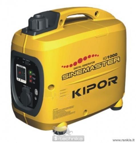 KIPOR IG 1000 Benzininis generatorius Paveikslėlis 1 iš 1 310820017655