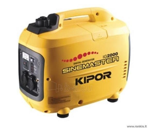 KIPOR IG2000 Benzininis generatorius Paveikslėlis 1 iš 1 310820017656