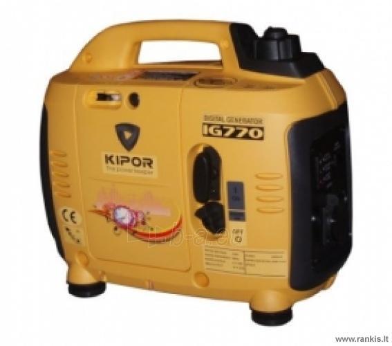 KIPOR IG770 Benzininis generatorius Paveikslėlis 1 iš 1 310820017660