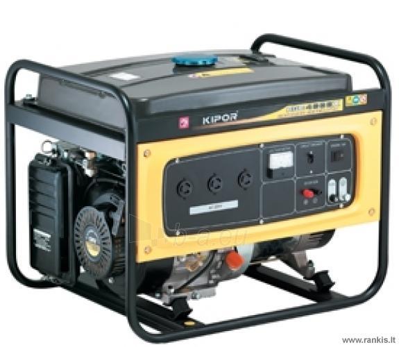 KIPOR KGE4000X Benzininis generatorius Paveikslėlis 1 iš 1 310820017659