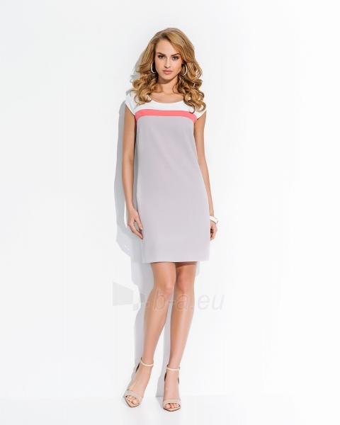 Klasikinė suknelė trumpomis rankovėmis Paveikslėlis 1 iš 1 30062402306