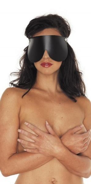 Klasikinis odinis akių raištis Paveikslėlis 1 iš 3 25140919000004