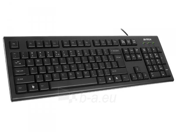 Klaviatūra A4-Tech KR-85 USB, US Paveikslėlis 1 iš 4 250255700971