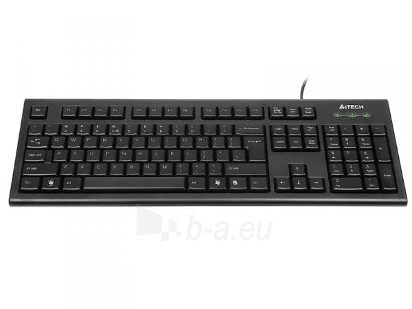 Klaviatūra A4-Tech KR-85 USB, US Paveikslėlis 2 iš 4 250255700971