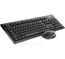 Klaviatūra A4Tech V-TRACK 2.4G 7100N RF nano, US Paveikslėlis 1 iš 4 250255700980