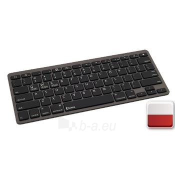 Klaviatūra Bluetooth Keyboard Polish Dark Grey Paveikslėlis 1 iš 1 310820050140