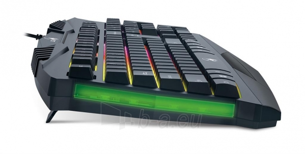 Klaviatūra Genius keyboard Scorpion K220, black, 7 color illuminated Paveikslėlis 4 iš 7 310820014940