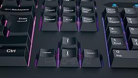 Klaviatūra Genius keyboard Scorpion K220, black, 7 color illuminated Paveikslėlis 5 iš 7 310820014940