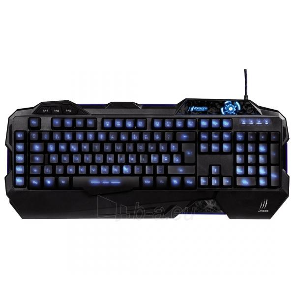 Klaviatūra HAMA uRage Exodus Macro Gaming Keyboard Paveikslėlis 1 iš 1 310820011721