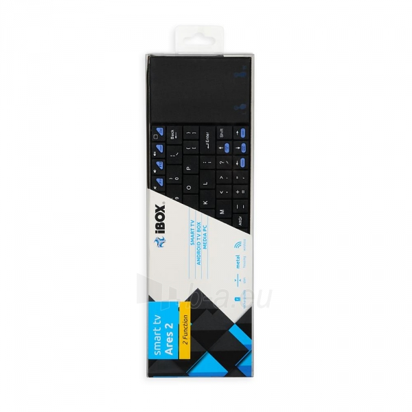 Klaviatūra I-BOX ARES 2 SMART TV + TOUCHPAD Paveikslėlis 9 iš 9 250255701400