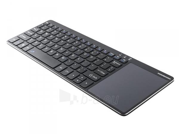Klaviatūra MODECOM MC-TPK1, Juoda Paveikslėlis 4 iš 7 310820023504