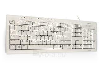Klaviatūra Natec Medusa 2 USB, Itin plona profilis, Balta Paveikslėlis 1 iš 4 250255701010