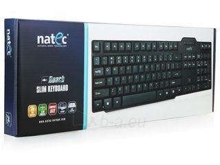 Klaviatūra Natec Roach Slim USB, Juoda Paveikslėlis 2 iš 8 250255701015
