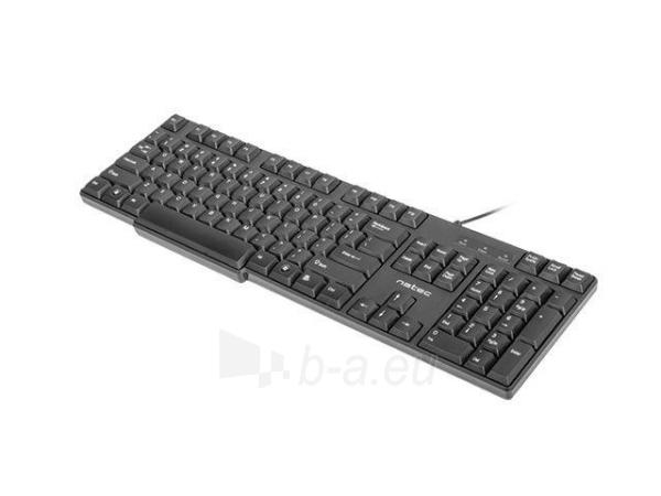Klaviatūra Natec Roach Slim USB, Juoda Paveikslėlis 4 iš 8 250255701015