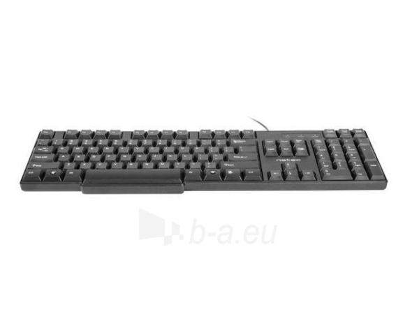 Klaviatūra Natec Roach Slim USB, Juoda Paveikslėlis 6 iš 8 250255701015