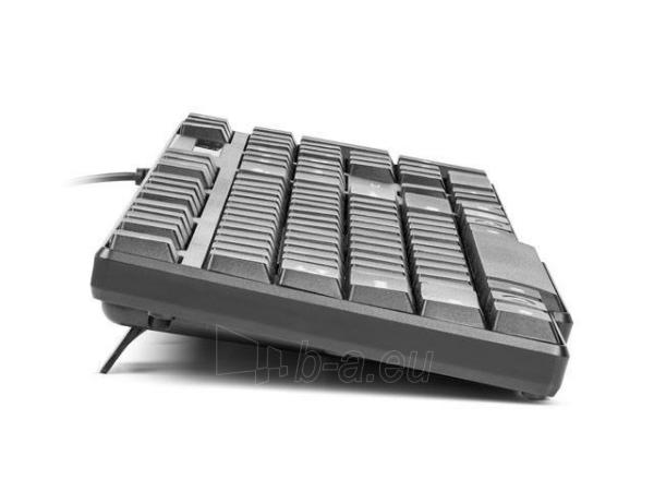 Klaviatūra Natec Roach Slim USB, Juoda Paveikslėlis 7 iš 8 250255701015