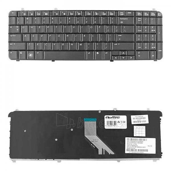 Klaviatūra Qoltec skirta HP/Compaq DV6-1000 Paveikslėlis 1 iš 3 250255701237