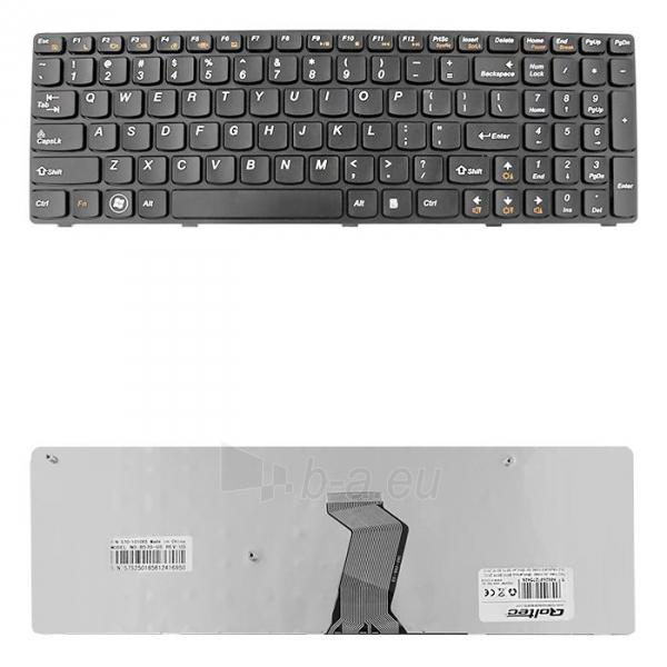 Klaviatūra Qoltec skirta IBM/Lenovo B570 B575 Z570 Paveikslėlis 1 iš 3 250255701214