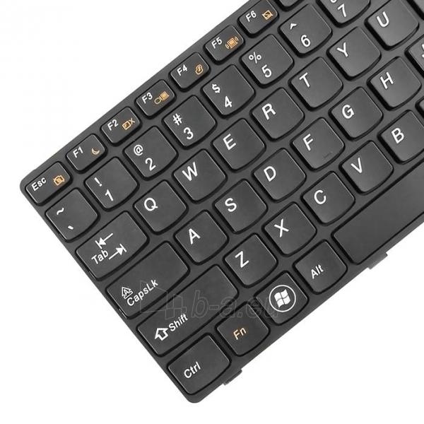 Klaviatūra Qoltec skirta IBM/Lenovo B570 B575 Z570 Paveikslėlis 2 iš 3 250255701214