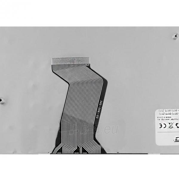 Klaviatūra Qoltec skirta IBM/Lenovo B570 B575 Z570 Paveikslėlis 3 iš 3 250255701214