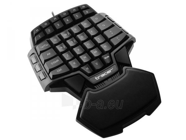 Klaviatūra TRACER Avenger USB , US Paveikslėlis 1 iš 3 250255701359