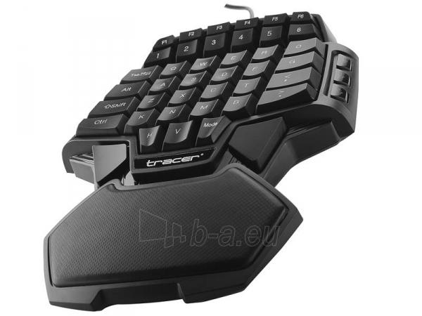 Klaviatūra TRACER Avenger USB , US Paveikslėlis 2 iš 3 250255701359