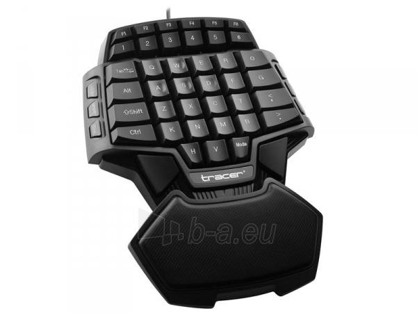 Klaviatūra TRACER Avenger USB , US Paveikslėlis 3 iš 3 250255701359