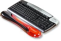 Klaviatūros kilimėlis Kensington Crystal Wristres Wave, gelinis, raudonai juodas Paveikslėlis 1 iš 1 250256600350