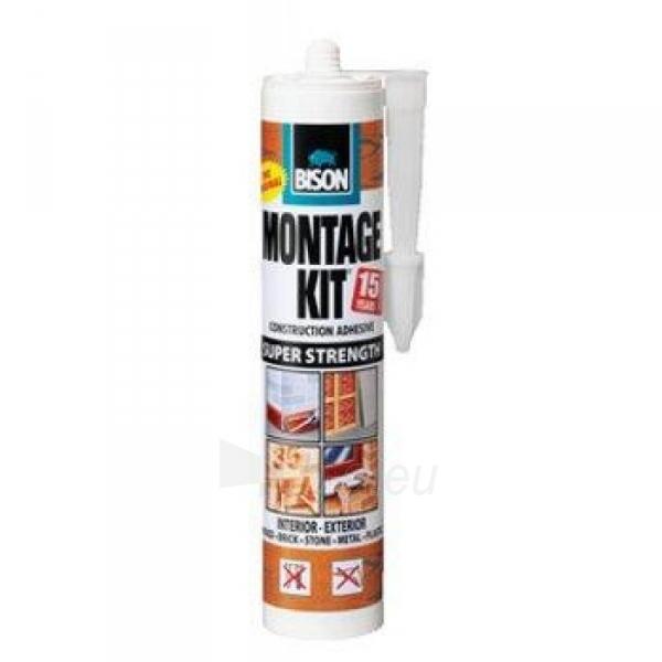 Klijai BISON Montage Kit 310ml Paveikslėlis 1 iš 1 310820017088