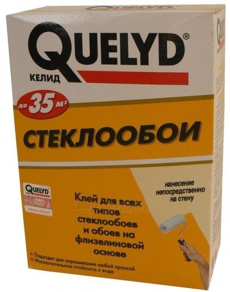 Wallpaper adhesive Quelyd fiberglass 500g Paveikslėlis 1 iš 2 236780700023