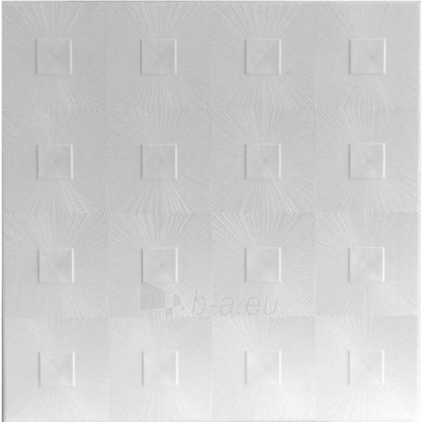 Klijuojama lubų plokštė ASTRO balta Paveikslėlis 1 iš 1 2377430000001