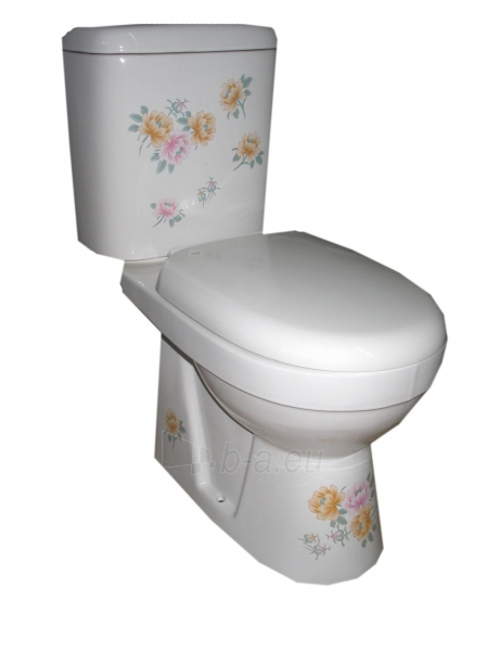 Toilet GRA-055P DEKOR 21 Paveikslėlis 1 iš 4 270713000412