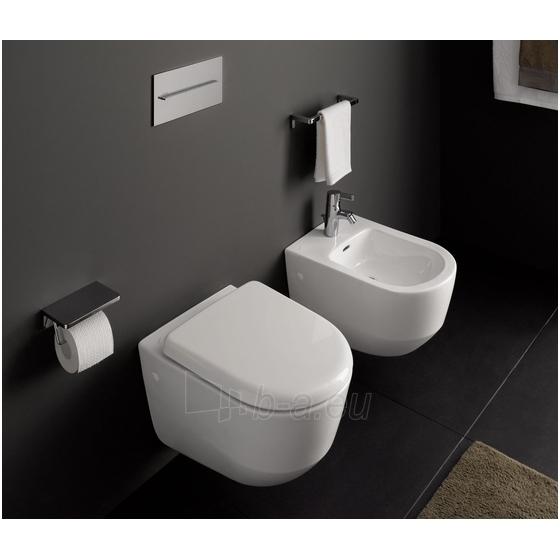 Toilet Laufen Pro New  tvirtinamas prie sienos 53cm, baltas Paveikslėlis 4 iš 6 270713000734