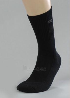 Kojinės SPORT DEO - antibakterinės kojinės juodos Paveikslėlis 1 iš 1 251510600014